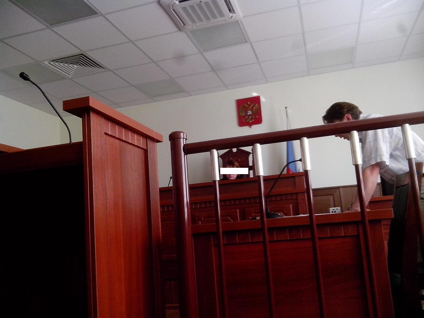 Борис Челышев в суде